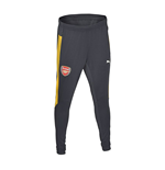 2016-2017 Arsenal Puma Training Pants (Ebony-Yellow)