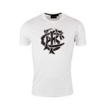 2016-2017 Barbarians Distressed Crest Tee (White)
