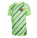 2016-2017 Barcelona Nike Pre-Match Dry Training Shirt (Ghost Green)