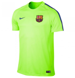 2016-2017 Barcelona Nike Training Shirt (Ghost Green)
