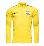 2016-2017 Man City Nike Core Trainer Jacket (Yellow)