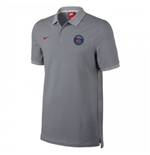 2016-2017 PSG Nike Authentic League Polo Shirt (Wolf Grey)
