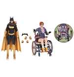 Batman Arkham Knight Action Figure 2-Pack Batgirl & Oracle 17 cm --- DAMAGED PACKAGING