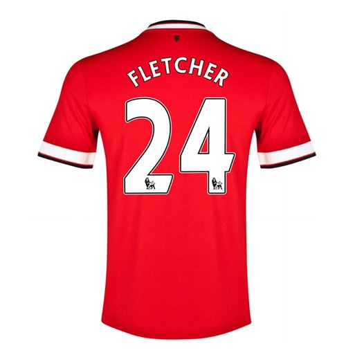 2014-15 Manchester United Home Shirt (Fletcher 24) - Kids