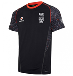 2017 New Zealand Warriors Rugby Training Tee (Black)