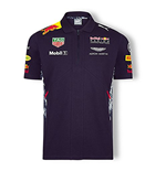 2017 Red Bull Racing Puma Team Polo Shirt (Night Sky)