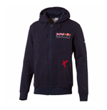 2017 Red Bull Racing Puma Hooded Sweat Jacket (Total Eclipse)