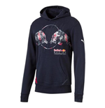 2017 Red Bull Racing Puma Graphic Hoody (Total Eclipse)