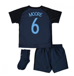 2017-18 England Away Infant Kit (Moore 6)