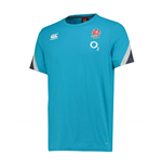 2017-2018 England Rugby Cotton Training Tee (Arctic)
