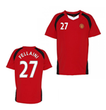 Official Man United Training T-Shirt (Red) (Fellaini 27)