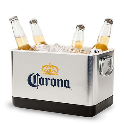 CORONA EXTRA Mini Beverage Stackable Cooler Bucket
