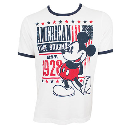 Mickey Mouse American Tee Shirt