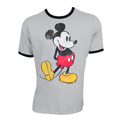 mickey mouse ringer tee shirt for only c at. Black Bedroom Furniture Sets. Home Design Ideas