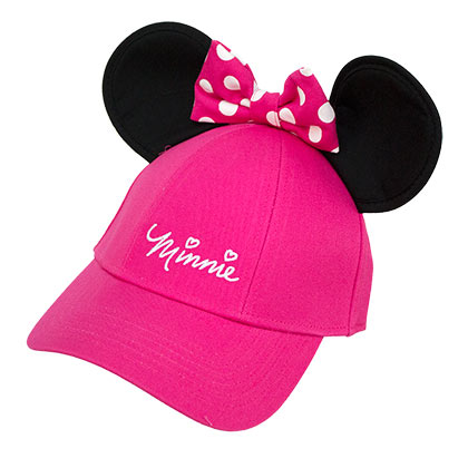 Minnie Mouse Ladies Ears Hat