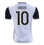 2016-2017 Denmark Away Shirt (Eriksen 10) - Kids