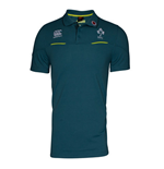 2016-2017 Ireland Rugby Cotton Training Polo Shirt (Ardgillian)