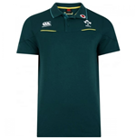 2016-2017 Ireland Rugby Cotton Training Polo Shirt (Deep Teal)