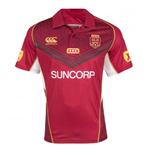 2017 Queensland Rugby Polo Shirt (Maroon)