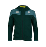2017-2018 Ireland Rugby Training Full Zip Hoody (Deep Teal) - Kids