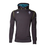 2017-2018 Ireland Rugby Training Tech Fleece Hoody (Phantom)