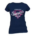 DC Comics Ladies T-Shirt Supergirl Athletics