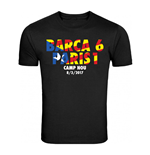 Barcelona 6-1 PSG T-Shirt (Black) - Kids