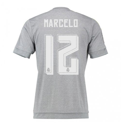 2015-16 Real Madrid Away Shirt (Marcelo 12)