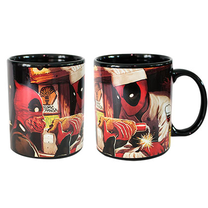 DEADPOOL Heat Reveal Coffee Mug