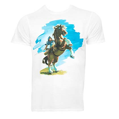 The LEGEND OF ZELDA Breath Of The Wild Horse Tee Shirt