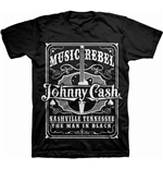 Johnny Cash T-shirt - Music Rebel