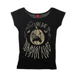 Nightmare before Christmas Ladies T-Shirt I Am The Pumpkin King
