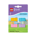LEGO Friends Mini-Erasers 4-Pack