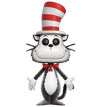 Dr. Seuss POP! Books Vinyl Figure Cat in the Hat (Flocked) 9 cm