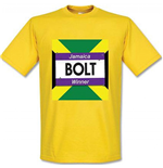 Usain Bolt Winners T-Shirt (Yellow)
