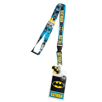 BATMAN Comic Keychain Lanyard