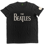 The Beatles Men's Fashion Tee: Drop T Logo