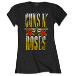 Guns N' Roses Ladies Tee: Big Guns