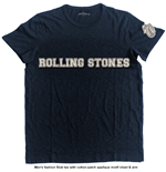 The Rolling Stones Men's Fashion Tee: Logo & Tongue