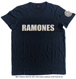 Ramones Men's Fashion Tee: Logo & Presidential Seal