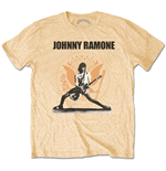 Ramones  Men's Tee: Johnny Ramone Rockin n Seal