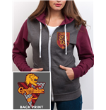 Harry Potter - House Gryffindor - Unisex Zoodie Grey