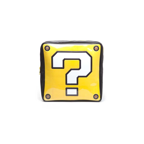 buy official nintendo question mark box shaped backpack