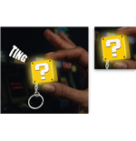 Super Mario Keyring with Light - Question Block