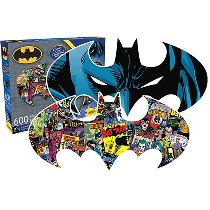 BATMAN Two Sided Puzzle
