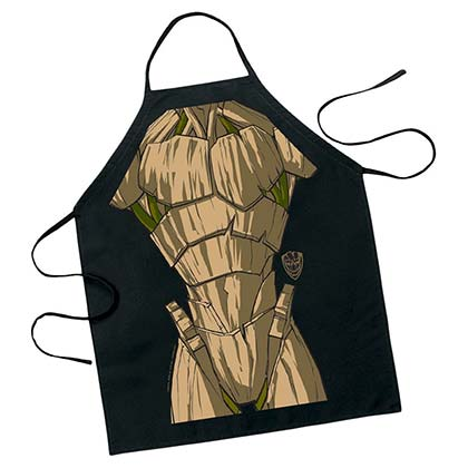 GUARDIANS OF THE GALAXY Cartoon Groot Apron