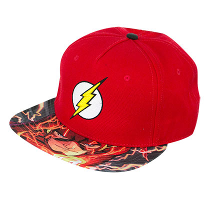 The FLASH Sublimated Bill Snapback Hat