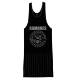 Ramones Ladies Tee Dress: Vintage Presidential Seal with Tassels