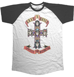 Guns N' Roses Men's Raglan Tee: Appetite for Destruction