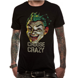 Batman 1966 - Choose Crazy - Unisex T-shirt Black
